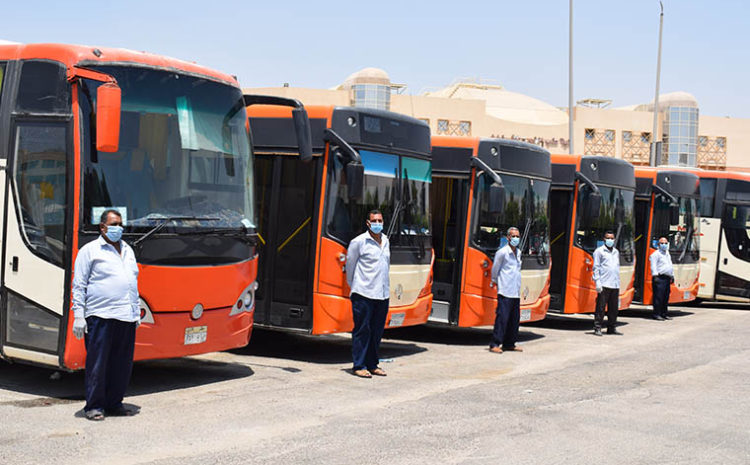 ERU offers transportation lines for the students at competitive prices