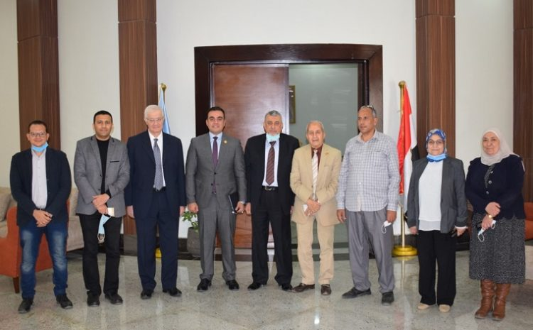 """The Egyptian Russian University hosts deputies from the House of Representatives and Senate in the seminar """"Building the Leadership Character"""""""