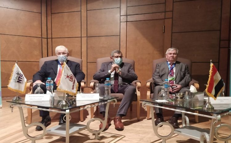 In cooperation with the Housing and Building National Research Center , The Egyptian Russian University and Izhevsk University inaugurate the 12th International Conference on Nanotechnology for Green and Sustainable Construction
