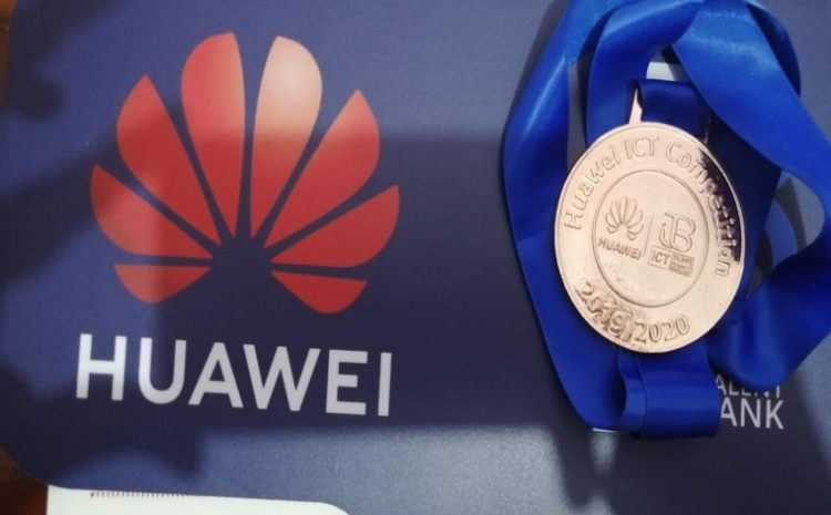 A student in the faculty of engineering of the Egyptian Russian University wins the bronze in the Huawei International Competition
